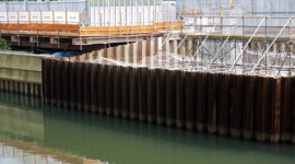 Sheet Pile Cofferdam