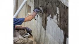 Waterproofing to basement walls