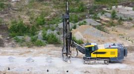 Crawler Rock Drill