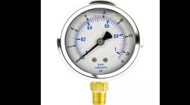 Pressure Gauge - Liquid filled