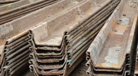 Used Sheet Piles stock