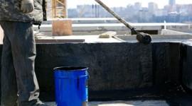Waterproofing to roof slabs